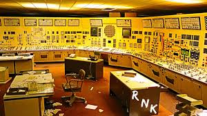 abandoned nuclear power plant w full power and s control  abandoned nuclear power plant w full power and 1970 s control room