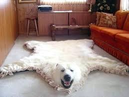 bear rug for nursery
