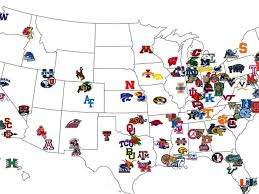 Big 12 football schedule 2021: Let S Start A College Football Program Where Should We Put It Sbnation Com