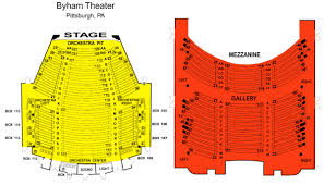 Byham Theater Seating View Related Keywords Suggestions