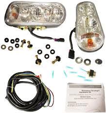 Boss Snow Plow Lights The Rop Shop Universal Halogen Headlamp Light Kit For Boss Curtis Western Blizzard Snowdogg