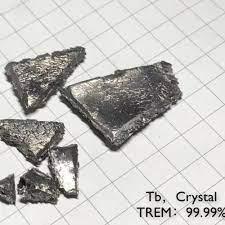 TB เทอร์เบียมบริสุทธิ์ 99.99% ตารางธาตุหายาก Earth องค์ประกอบโลหะ|Magnetic  Materials