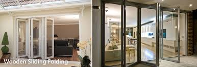 wooden sliding folding doors