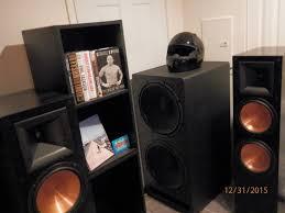 klipsch used speakers. the 2 klipsch r-115sw 15\ used speakers