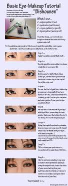 eye makeup tutorial pretty boy by kitsunesqueak