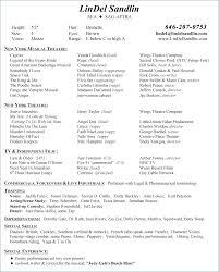 Film Resume Template Classy Film Resume Template Word Film Resume Template Word Resume Layout