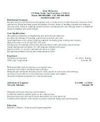 Sample Mechanical Engineer Resume Engineer Resume Sample Engineering