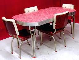 Full Image for Vintage Dining Table And Chairs For Sale 50s Style Dining  Table And Chairs