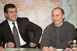 Медведев Дмитрий Анатольевич Википедия Дмитрий Медведев и Владимир Путин 27 марта 2000 года на второй день после победы Путина на президентских выборах