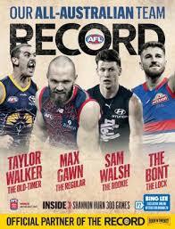 Mid season all australian team 2021. Afl Record Round 20 2021 By Crocmedia Lifestyle1 Issuu