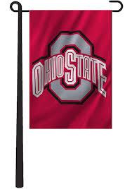 ohio state buckeyes 12 5x18 applique garden flag image 2