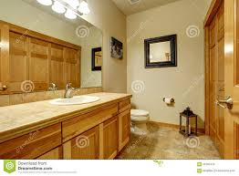 American Home Design Bathrooms Typical Bathroom In Mountain American Home Stock Image