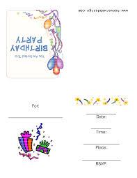 Print Out Birthday Invitations Free Printable Birthday Invitation Templates vastuuonminun 12