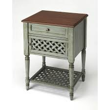 Butler Specialty Company Butler Chadway Rustic Blue End Table