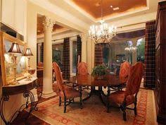 formal dining rooms with columns. dramatic formal dining room - crystal chandelier grand marble columns. grey oaks in naples, fl | naples florida drool-worthy rooms pinterest with columns n