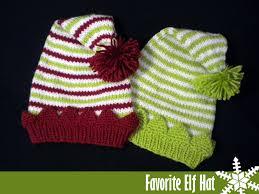 Elf Hat Pattern Best Favorite Elf Hat Knitting Pattern On Luulla