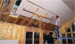 drywall over plaster library builder
