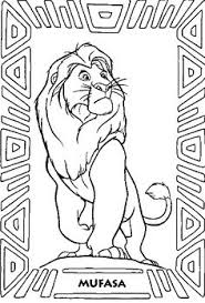 Small Picture Lion King Coloring Pages Lion King Simba coloring page Art 3