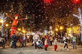 Greensboro Christmas Tree Lighting Festival Fills Downtown Greensboro With Holiday Fun