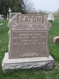 Alma Aldrich Eaton (1843-1913) - Find A Grave Memorial