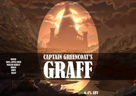Captain Greencoat's Graff bottle label from Homebrew Talk