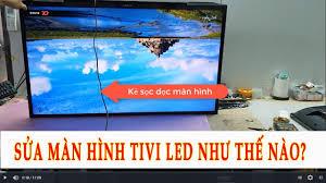 SỬA KẺ SỌC MÀN HÌNH TIVI SONY KDL-40R350B| TTBH & SỬA CHỮA TIVI HẢI PHÒNG -  YouTube