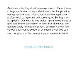 Admission Essays Examples Grad School Application Essay Examples Mba ...
