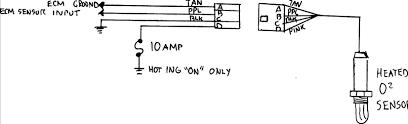 heated oxygen sensor fuse location 2002 honda 2006 silverado o2 sensor wiring diagram toyota at 4 Wire O2 Sensor Wiring