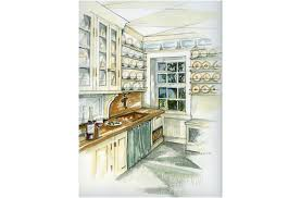 interior designers drawings. Joan Picone - Designer Kitchen Design, Bath Interior Space Planning Designers Drawings