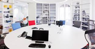 round office desks. large round white meeting room table office desks
