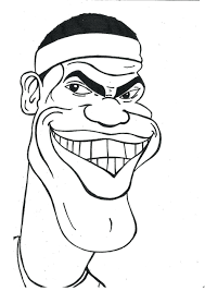 coloring book detail name lebron james coloring pages