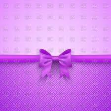 Purple Backgrounds Romantic Purple Background With Bow Vector Illustration Of