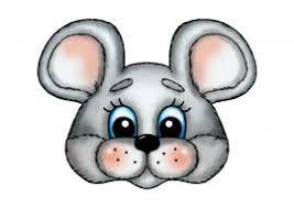 <b>Мышка</b>. <b>Маска</b> на голову | <b>Маски</b>, Детский сад, Бумажные шаблоны