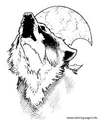 Small Picture wolf moon Coloring pages Printable
