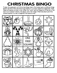 Christmas coloring pages for kids & adults to color in and celebrate all things christmas, from santa to snowmen to festive holiday scenes! Christmas Bingo Board No 5 Coloring Page Crayola Com