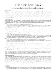 Writing A College Essay Format Best Ideas Of Cover Letter Essay Format For College Essay Guidelines 5