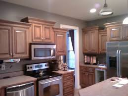 Light Gray Kitchen Walls Dark Kitchen Cabinets With Gray Walls Quicuacom