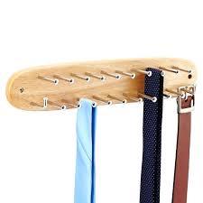 tie and belt rack natural tie belt rack closetmaid tie and belt rack