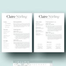 Modern Resume Template Free Download Word Modern Resume Template Word Org Cv With Photo 2 Page Free