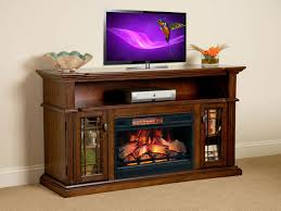 wallace infrared electric fireplace entertainment center in empire cherry 26mm1264 epc