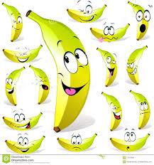 Dessin Anim De Banane Photos Libres De Droits Image 27035988