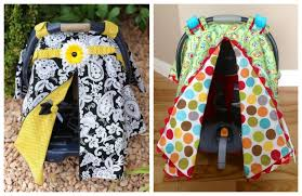 diy car seat canopy free sewing pattern