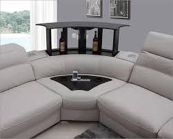 innovative light grey sectional light grey italian leather sectional sofa 44l5962