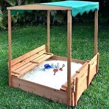 outdoor sandbox with canopy club kidkraft assembly instructions look make a sand rock box lid c