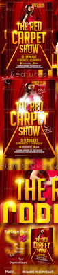 talent show flyer template free red carpet show flyer template by graficandmedia graphicriver