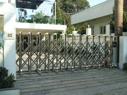 retractable gate gates bunnings