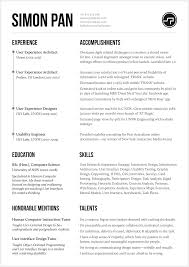 Product Consultant Resumes 8 Brilliant Ux Designer Resumes That Secured Job Offers From