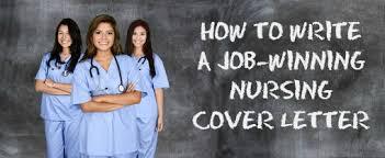 Cover Letter Examples Nursing Jobs Nursing Cover Letter Example