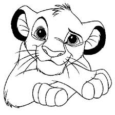 Cool Simba Coloring Page Download Print Online Coloring Pages