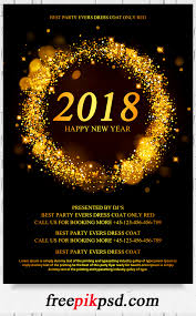 new year flyer psd template pik psd new year party flyer